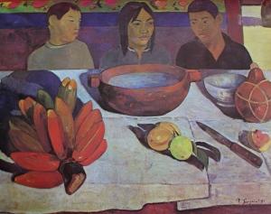 le repas de Gauguin